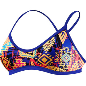 TYR Santa Ana Mojave Trinity Bikini Femme, blue/coral